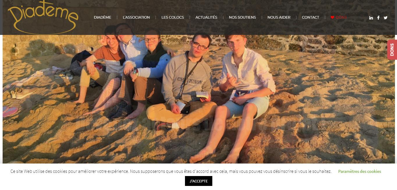 Diadème : Un nouveau site pour les colocs !